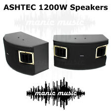 1200W Speakers For Ashtec Powered Mixer Amplifier Guitar Karaoke DJ Instrument
