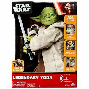 legendary yoda Disney Spinmaster