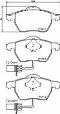 Kit pastiglie TEXTAR 2301802 AUDI SEAT SKODA VW