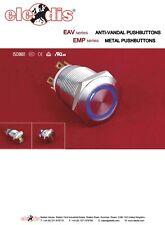 5Pcs Red T80-R 3Pin 3 position momentanée Mini Paddle Interrupteur 3A//250VAC