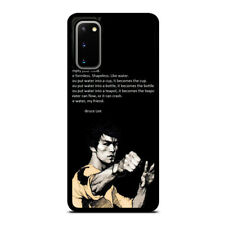 BRUCE LEE QUOTE 3 Samsung Galaxy S8 S9 S10 5G S20 Plus Ultra Case Phone Cover