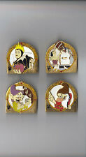 DISNEY PINS~LE 1000~DLR WALT'S CLASSIC COLLECTION~SNOW WHITE~4 PIN SET~NEW~MINT