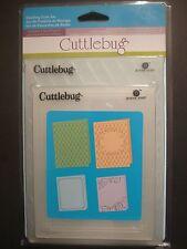 4 WEDDING SUITE Embossing Folders For Cricut Cuttlebug Die Cut Embossing Machine