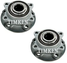 Pair Set Of 2 Front Timken Wheel Bearing And Hub Kits for Volvo S60 V70 XC70 AWD