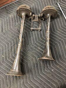 Ford Flathead V8 Horns Mercury 1938 1939 1940 1941 1946 1935 1936 1937