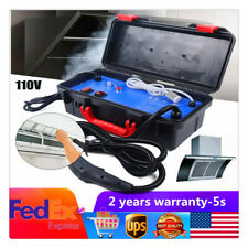 110V Electric Steam Cleaner Portable Steamer for Car Household Cleaning 1400W