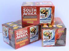 Panini Coupe du Monde 2010 Afrique du Sud - 3 x Display Box dans leur emballage d'origine