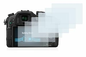 Panasonic Lumix DMC-GH4,  6 x Transparent ULTRA Clear Camera Screen Protector