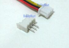 1.25mm Micro 3-Pin Female Connector wire + Male Header Quadcopter PCB Board x 10