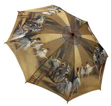 Galleria Auto Folding Umbrella - Degas Ballet