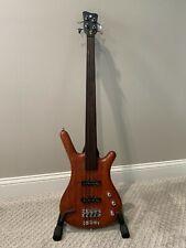 Warwick Corvette Standard Fretless 4-string Bass Guitar