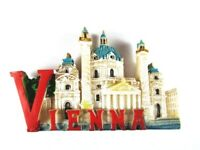Imán Viena Viena Charles Church, Poly, Recuerdo Austria, Nuevo