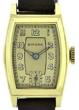 BIFORA, ungetragene (NOS) Vintage- Uhr, frisch revisioniert, 30er Jahre DRGM