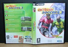 ACTUA SOCCER 3 - Pc - 2009 Dice Multi Media
