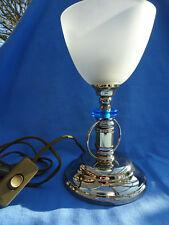 Tischlampe, Nachttischlampe, kleine Stehlampe von Kolarz, Messing und Glas