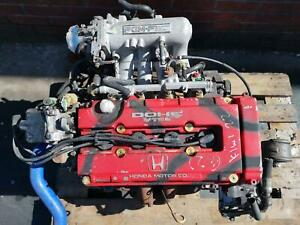 HONDA CRX / CIVIC 1.6 DOHC VTEC B16A ENGINE 1988-1991