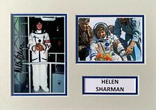 More details for helen sharman hand signed a4 photo mount display british astronaut autograph 5