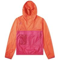 NIKE ACG HOODED ANORAK HABANERO RED SPORT FUCHSIA LARGE NEW CD7634 634