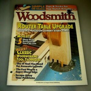 Woodsmith Magazine Router Table Upgrade Vol 29 Issue 171.....