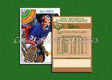 Bill Smith - New York Islanders - Custom Hockey Card  - 1977-78
