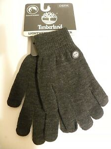 TIMBERLAND Touch Screen Lightweight Computer & Cell Phone Men's Gloves - New