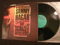 SAMMY HAGAR - Rematch - 1982 Vinyl 12'' Lp./ VG+/ Prog Hard Rock AOR