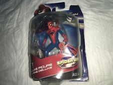 Marvel the amazing Spiderman action figure deluxe W/ Stand 💥Free Shipping💥