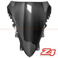 2007 2008 Yamaha R1 Upper Front Nose Windshield Screen Fairing Cowl Carbon Fiber