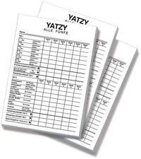 Nuremberg XL yatzy-bloques-para kniffel, yatze, yazze - 3 unid.