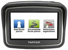 TomTom Rider v4 Europa 45 Motorradnavigationsgerät XL Display Free Lifetime Maps