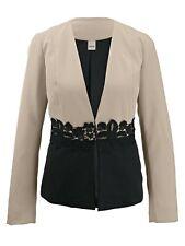 31705916 eleganter Damen Blazer von heine Style mit Spitzen Besatz Gr. 42 NEU