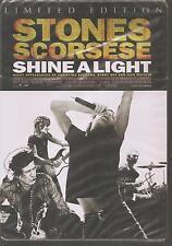 "ROLLING STONES / MARTIN SCORSESE ""Shine A Light"" limited Edition Metalpak DVD ss"