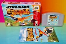 Star Wars Battle For Naboo Ep 1 - Nintendo 64 N64 Cart Tested Authentic Complete