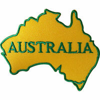 Australia Patch Iron On Sew On Clothes Jacket Jeans Australian Embroidered Badge