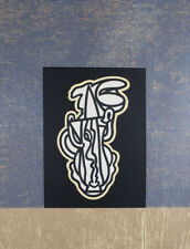 Alun LEACH-JONES - Alchemy (Blue) - original signed screenprint abstract limited