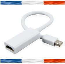 Adaptateur Mini Displayport Vers Hdmi pour PC Portable Apple Macbook Pro Air...