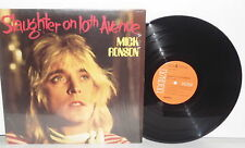 MICK RONSON Slaughter On 10th Tenth Avenue LP Vinyl Glam Spiders Love Me Tender