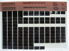 Honda CBR900 CBR900RR 1993 94 95 96 1997 Parts List Catalog Microfiche a596