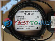 USB PLC Programming Cable FX-USB-AW For Mitsubishi MESLEC FX3U Windows 10 New