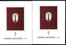 Cahiers Metanoïa - du N°41 au 57 - Gnose Esotérisme