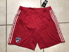 NWT ADIDAS FC Dallas MLS RED Soccer Shorts Men's XL