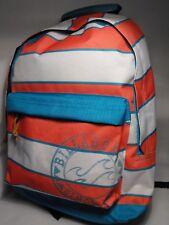 Girls Backpack Rucksack School College PINK AND BLUE BILLABONG Travel Laptop Bag
