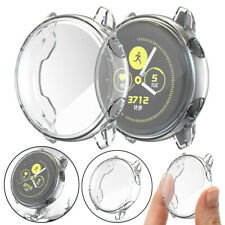 1Pc TPU Full Clear Case For Samsung Galaxy Watch Active Cover Protector Shell aa