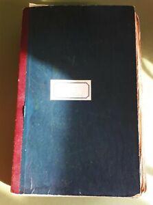 "Unique 1931 Huge Scrapbook of Society Gossip Columnist ""ANDREA"". Dorothy Jenner"