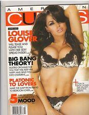 AMERICAN CURVES #49 bikini lingerie fitness magazine/Louise Glover 2-09