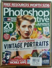 Photoshop Creative UK No 137 Create Charming Vintage Portraits FREE SHIPPING sb