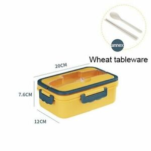 Bento Lunch Box Kids Bento Japanese Style Prep Containers Portable Leak Proof