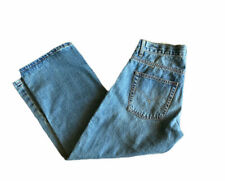 Levi's Boys 550 Jeans Relaxed Fit Adjustable Waist Tapered Leg Size 8 Husky