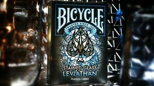 Bicycle Stained Glass Leviathan Playing Cards ()
