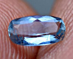 0.20 Carat Top Quality Neon Blue Afghanite Cut Gemstone From Afghanistan